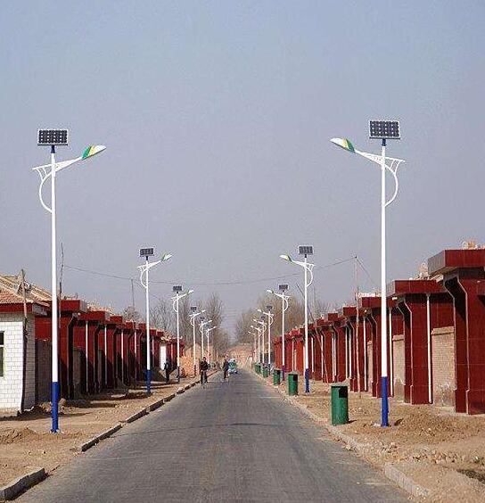 陕西太阳能路灯安装