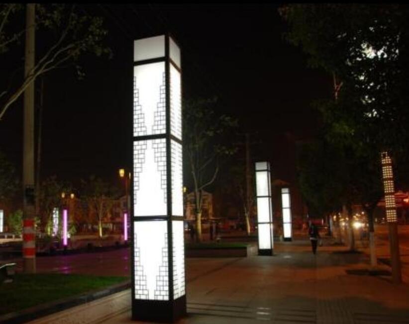 陕西景观灯安装,景观灯与路灯有什么区别?