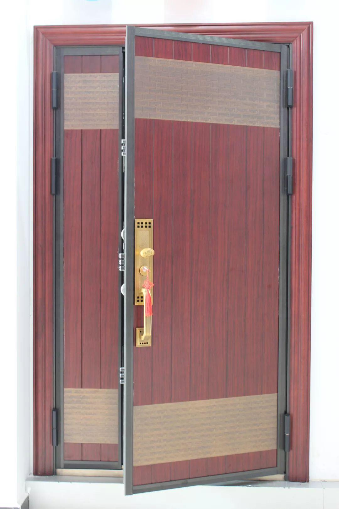 钢木装甲门系列