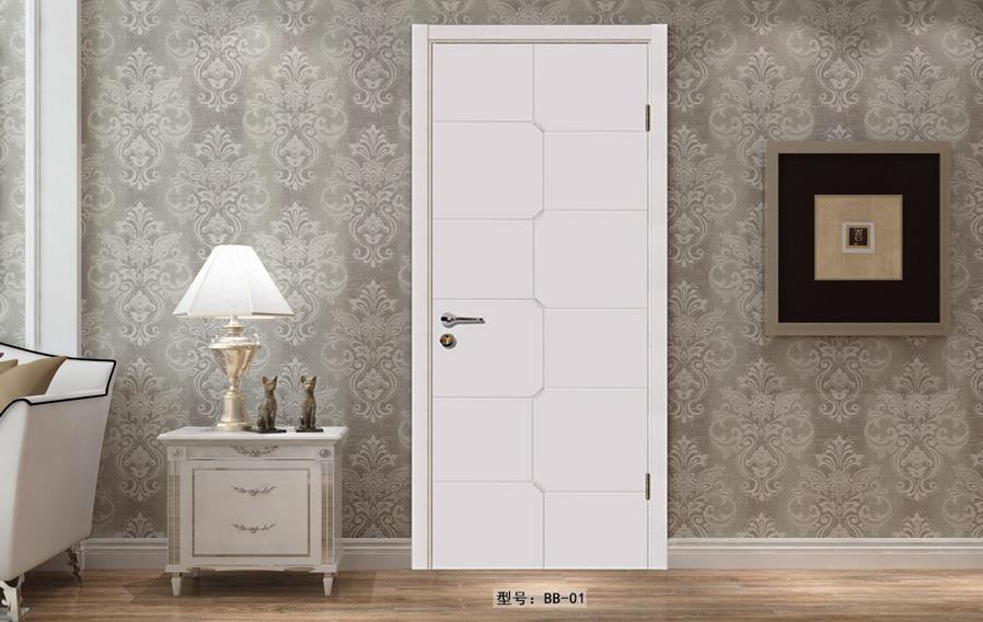 盼盼实木复合烤漆门BB01