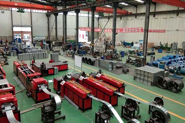 甘肃风机厂家生产车间展示