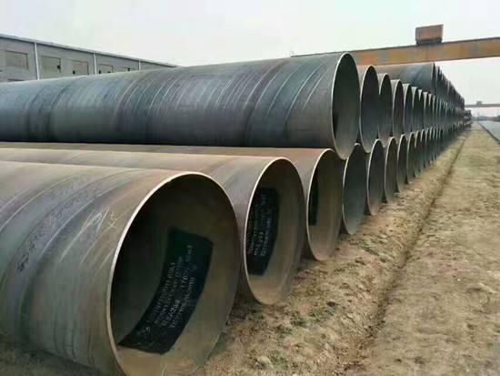 四川螺旋钢管的正确保存方式