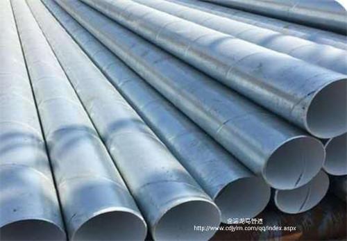 四川热镀锌防腐钢管工程案例