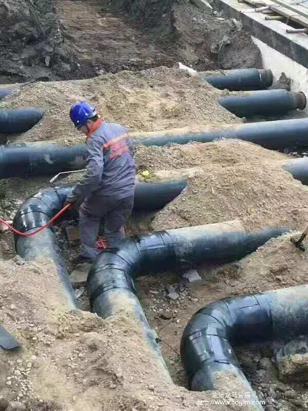 成都保温钢管工程案例