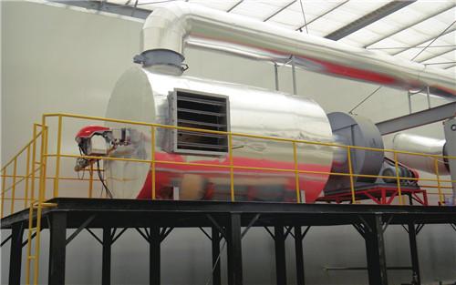 中亚窑炉热风炉系统