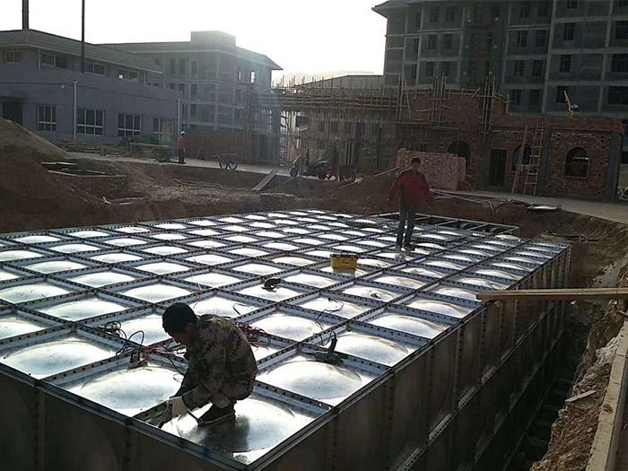 武汉不锈钢水箱的安装与验收需要注意什么?