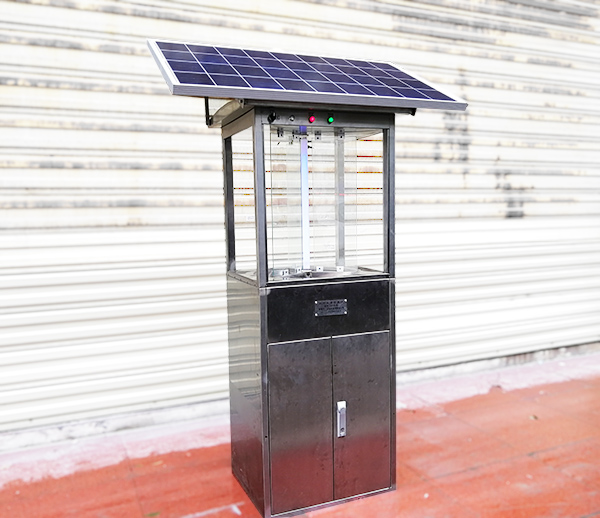 太陽能式遠紅外分天存放蟲情測報儀