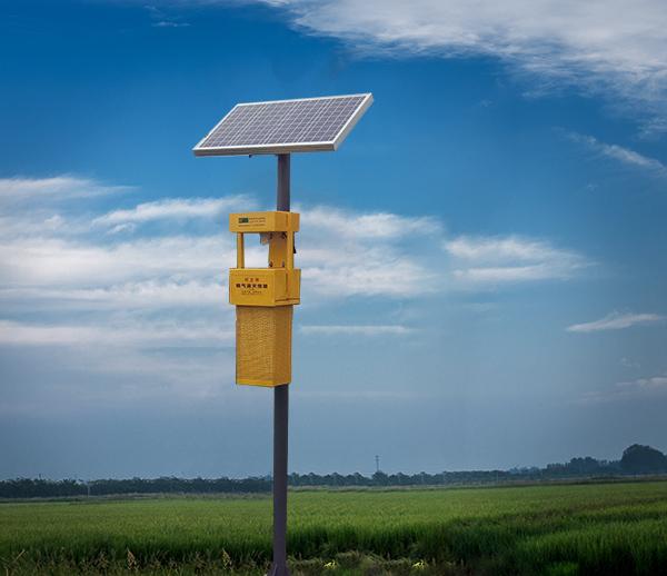 太陽能式風吸式殺蟲燈