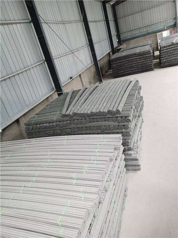 河南建筑专用pvc穿墙丝拉丝套管厂家