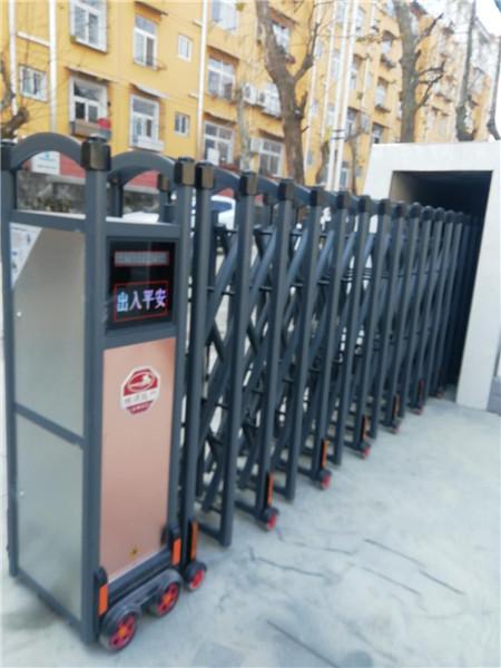 汉中电动伸缩门安装