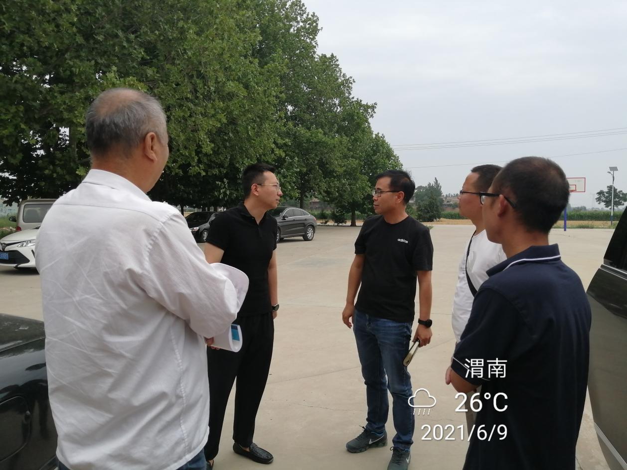 龙北青龙村人居提升项目二期协调专题会议