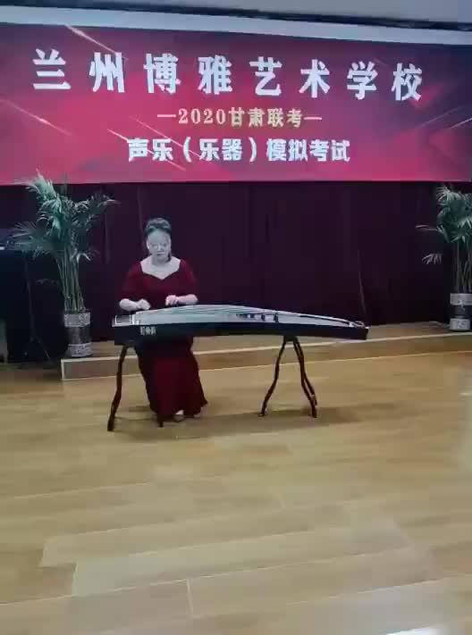 优秀学员演唱表演视频片段