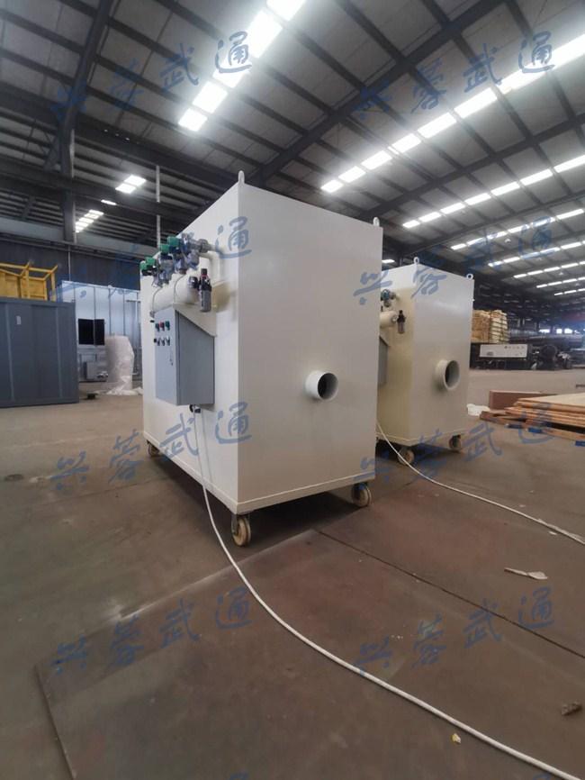 WLMC型单机滤筒脉冲除尘器(移动式)