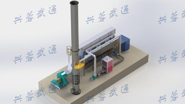 四川废气净化设备-活性炭吸附脱附催化燃烧