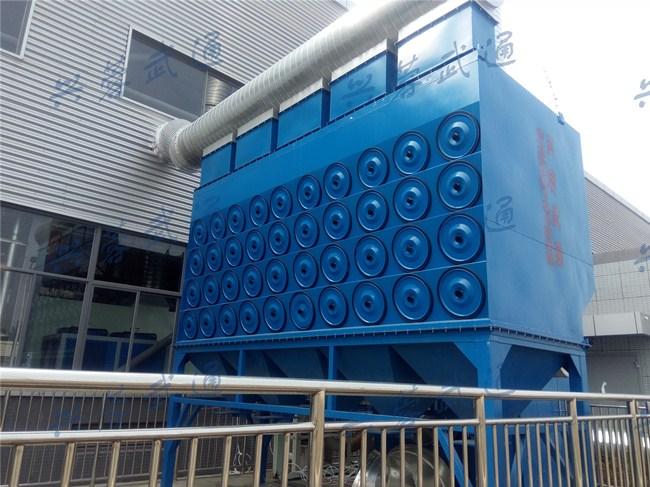 WLDC型沉流式滤筒除尘器