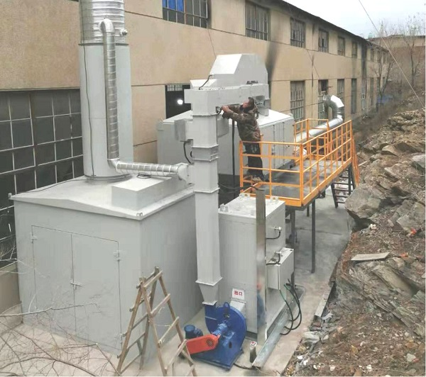 活性炭吸附脱附催化燃烧废气处理系统