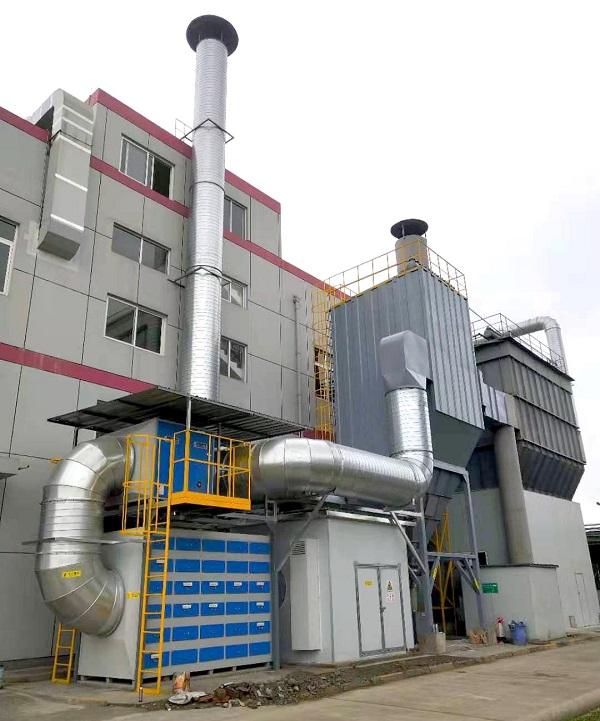 粉尘及VOCs废气处理系统