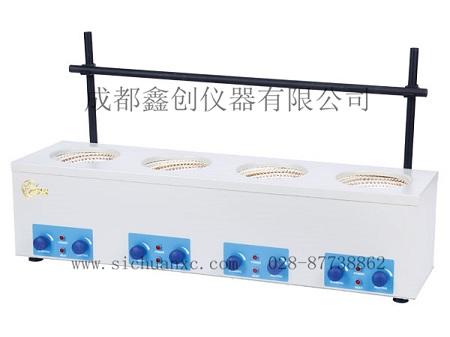 中兴-HJ-6调温联式磁力搅拌电热套四联