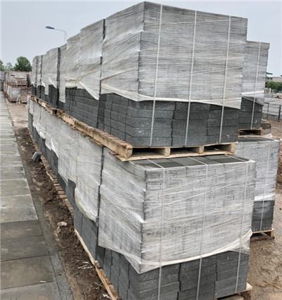 透水砖施工