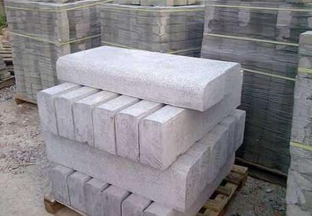 陕西路沿石施工