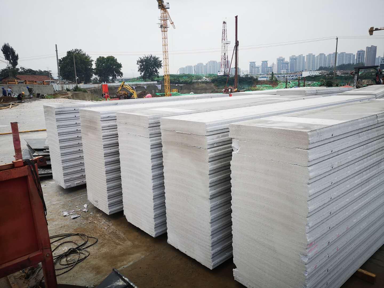 加气块项目下(ALC板材,西安浐灞工地丿