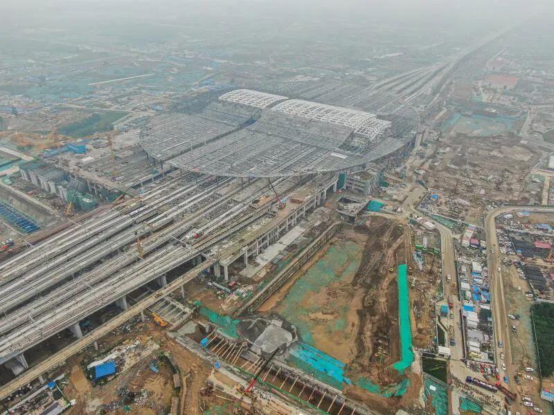 多图!数说京雄高铁各标段工程.新进展