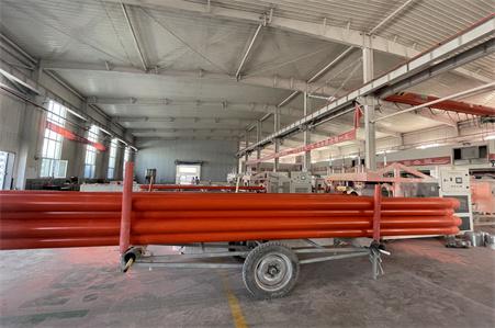 pvc电力穿线管生产线