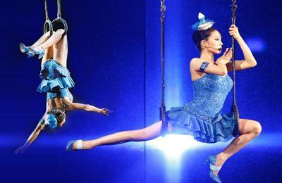 高空舞蹈训练