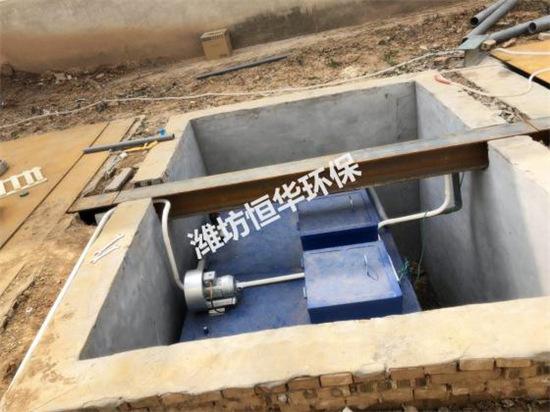 2019年4月邯郸一体化安装完毕