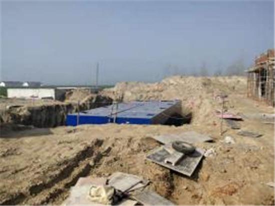 2019年3月江苏盐城500方地埋一体化