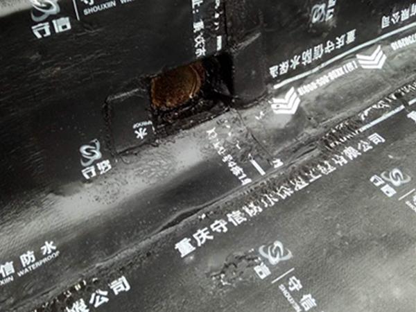 防水维修落水口节点处理
