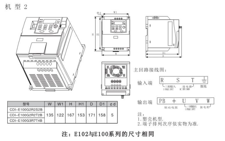 CDI-E102系列变频器