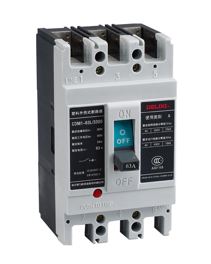 内蒙古家居电气设备——CDM1系列热磁式塑料外壳式断路器