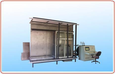 四川門窗檢測儀器設備-建筑門窗綜合物理性能試驗機