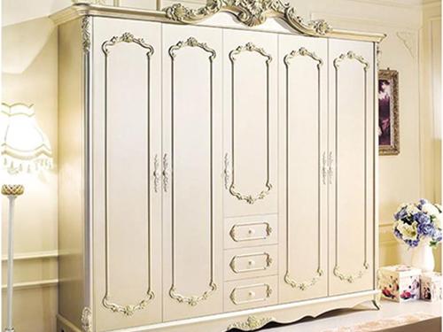 成都欧式风格成品衣柜