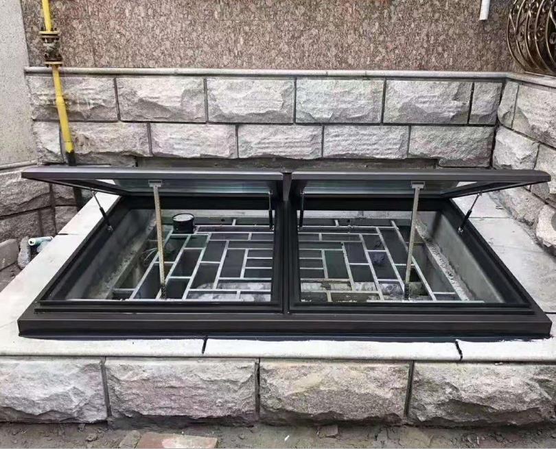 目前铝合金天窗制作的话可以量尺度定做呢