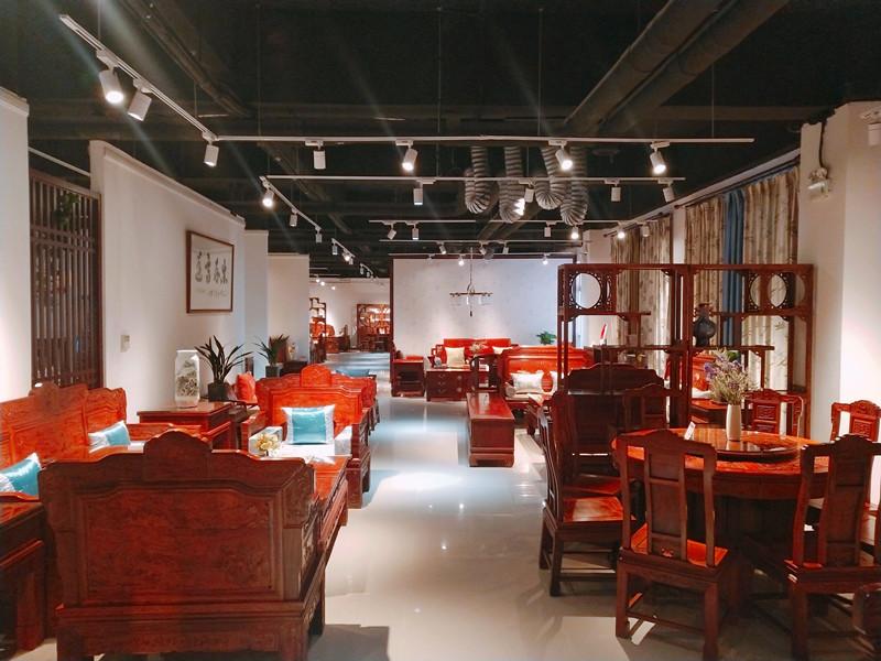 红木家具展示