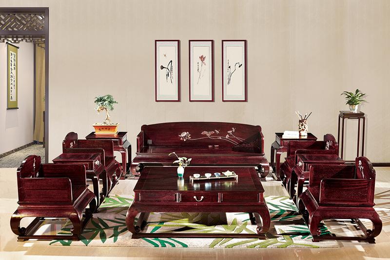 赞比亚小叶紫檀沙发