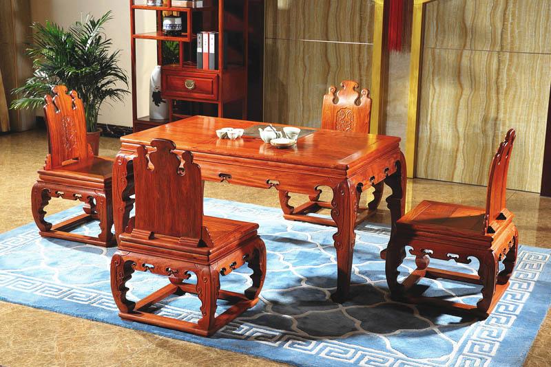 西安缅花新古典茶桌方桌