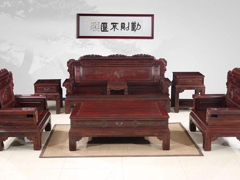 酸枝木沙发价格实惠工艺好性价比高