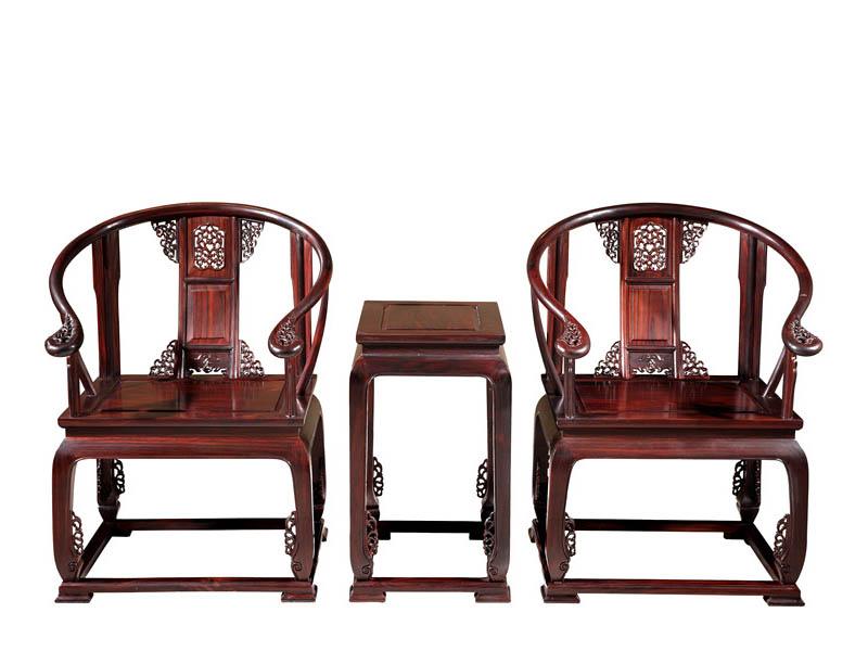 枯叶黄檀皇宫椅三件套