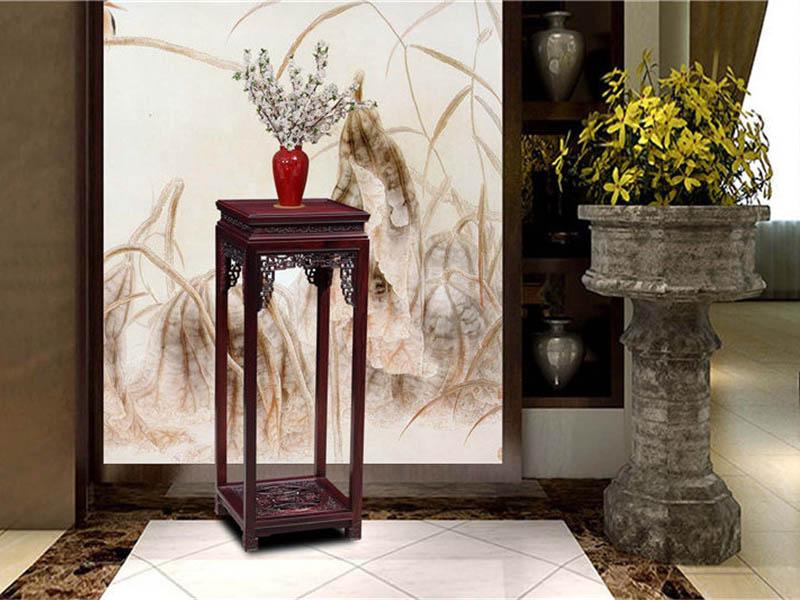 古典红木家具小件花几花架