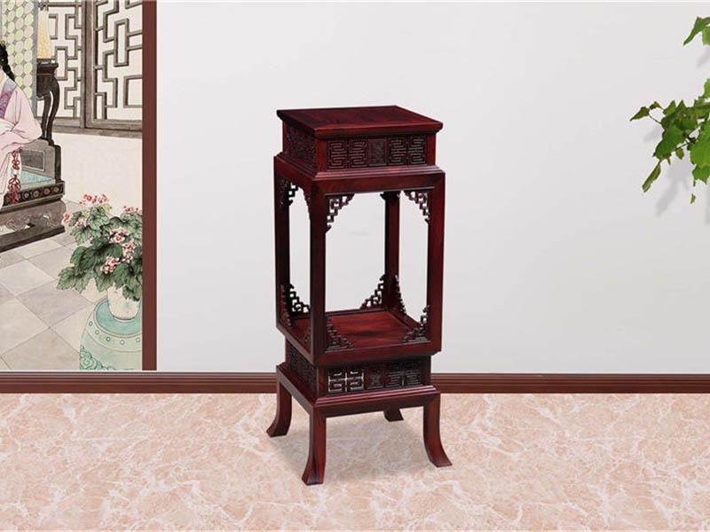 红木家具古典花几花架