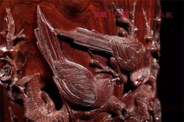 好的雕刻工艺,提升红木价值