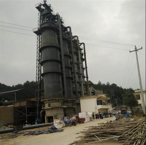貴州凱裡耐火材料石灰窯圓滿完工