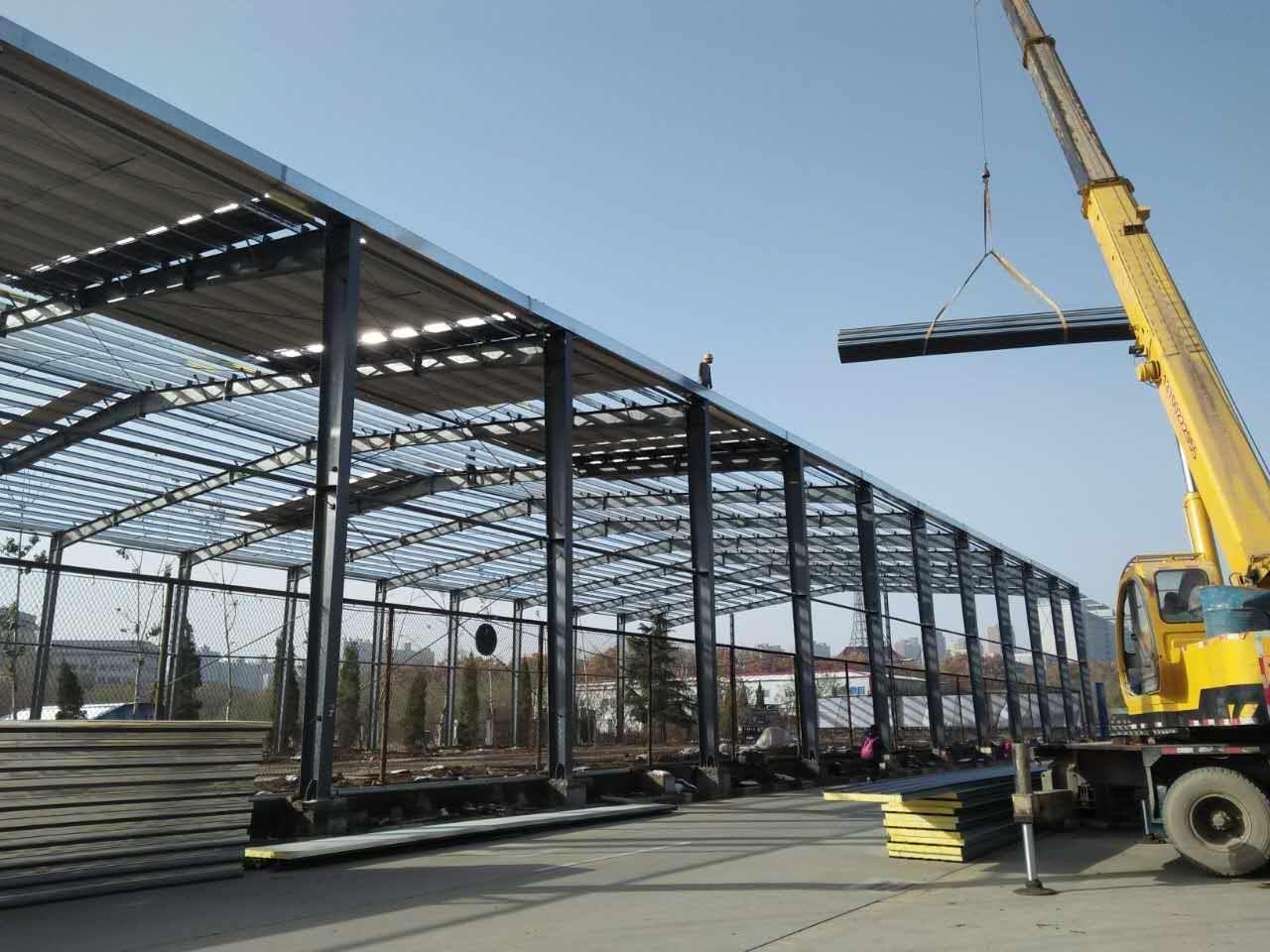 鋼結構廠房搭建
