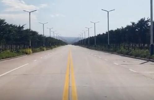 金德润道路标线成品案例展示
