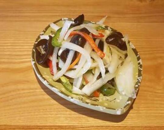 兰州炒面片小菜
