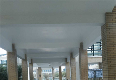 郑州第十一中学外墙翻新项目