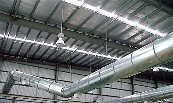 苏达风管安装案例